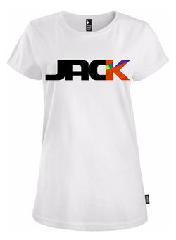 """CROSS UNDER"" JACK LOGO WHITE"