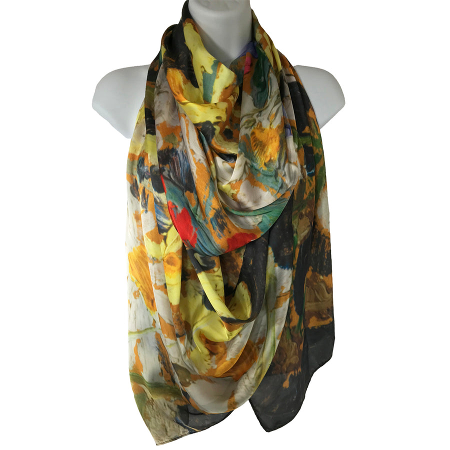 Tom Thomson Wildflowers Scarf
