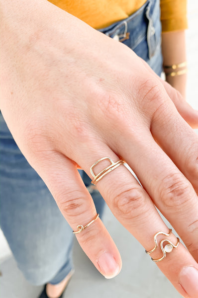 Mercury Midi Ring