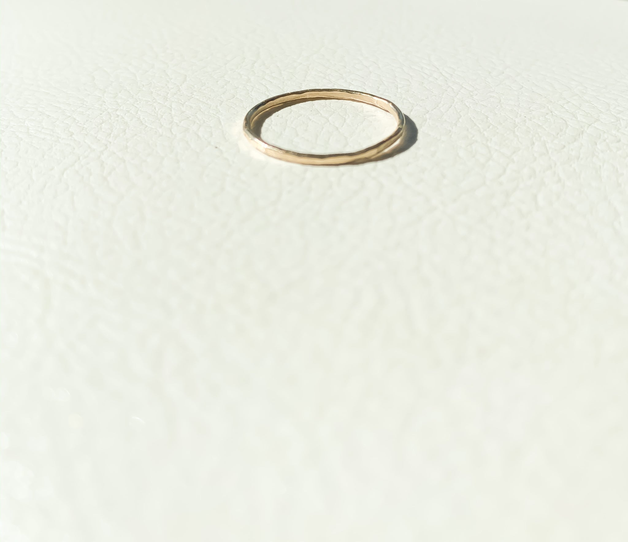 Plain Ring, Gold-filled.
