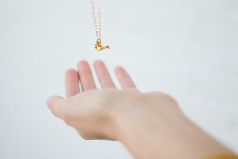 Good Luck Charms, Gold-Plated Necklaces