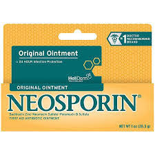 neosporin original ointment 1oz, 24 hour infection protection - Adventura Sickroom Supply