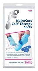 PEDIFIX cold therapy socks natra cure pair - Adventura Sickroom Supply