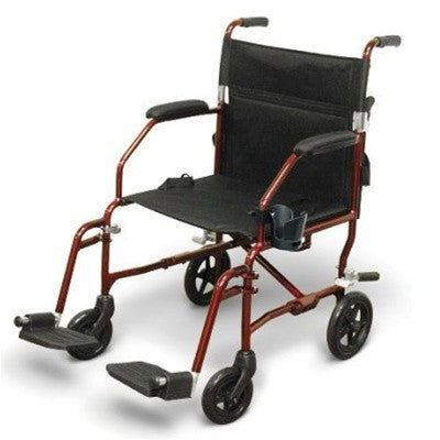RENT TRANSPORT Wheelchair Ultralight 14 lbs - Rent Wheelchair Transport Ultralight 55.00 per Month - Adventura Sickroom Supply