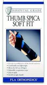 thumb Soft Fit spica splints - Adventura Sickroom Supply