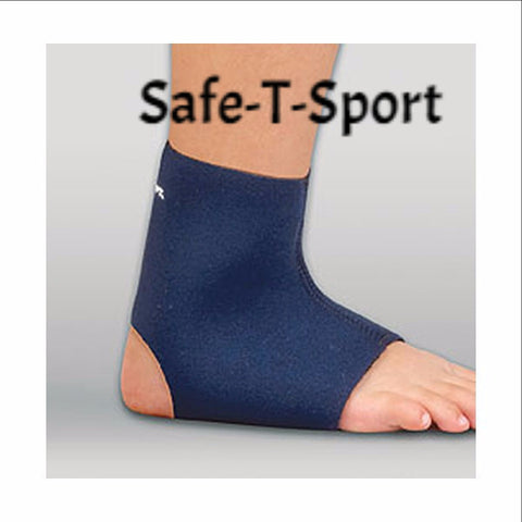 Ankle Support - Neoprene Safe - T - Sport Supports - Adventura Sickroom Supply