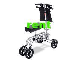 Rent Knee Walker Monthly gray and black - Crutch and Crutches Alternative - (Pick up at Store) only 60.00 per Month