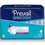 DIAPERS PREVAIL BREEZERS LARGE PKG/18