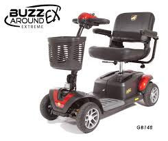 BUZZaround EX 4 Wheel Scooter - Adventura Sickroom Supply