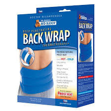 hot/cold wrap BED BUDDY moist heat  Carex - Adventura Sickroom Supply