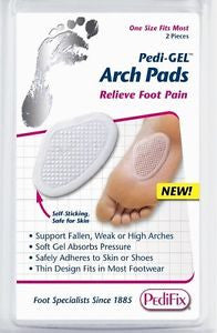 Pedifix Arch Pads Pedi-GEL p8202 - Adventura Sickroom Supply