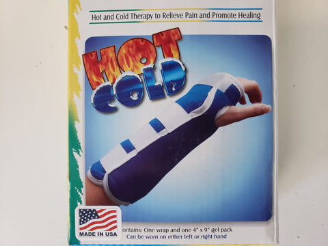 "ThermaPress - Hot'Cold - Wrist & Forearm Wrap - 4""x9"" - Adventura Sickroom Supply"