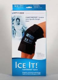 "cold pack Ice It knee wrap 12""x13"" Battle Creek 512"