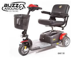 BUZZaround EX 3 Wheel Scooter - Adventura Sickroom Supply