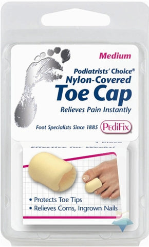 Pedifix Toe Cap foam / nylon-covered p34 - Adventura Sickroom Supply