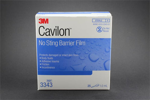 Barrier film 3M cavilon no string barrier film - Adventura Sickroom Supply