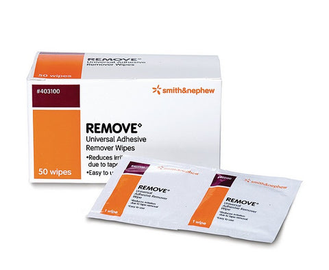 Skin Adhesive Remover Wipes 50' 403100 smith&nephew - Adventura Sickroom Supply