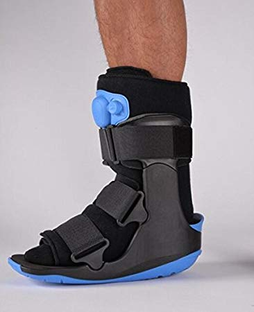 Cam walker boot short with air bladder - Adventura Sickroom Supply
