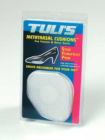 Pedifix TULI'S gel metatarsal cushions  p89 - Adventura Sickroom Supply