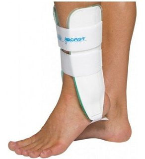Ankle Brace - Ankle Support - Aircast Sport Stirrup - Adventura Sickroom Supply