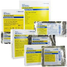 "Gauze Strip - Xeroform Occlusive 5""x9"" - Covidien 8884433605 - Adventura Sickroom Supply"
