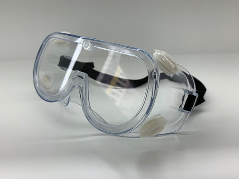 Anti-Fog Protective Safety Goggles Clear Lens Wide-Vision