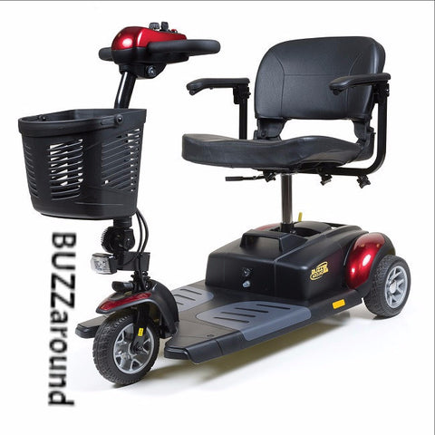 Scooters BUZZaround XL 3 Wheel Scooter - Adventura Sickroom Supply