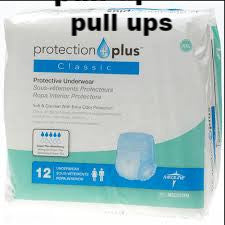 diapers pull up Protection Plus classic xxl msc23700 Medline