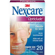 eye patch 3M Nexcare opticlude orthoptic797-0700 - Adventura Sickroom Supply