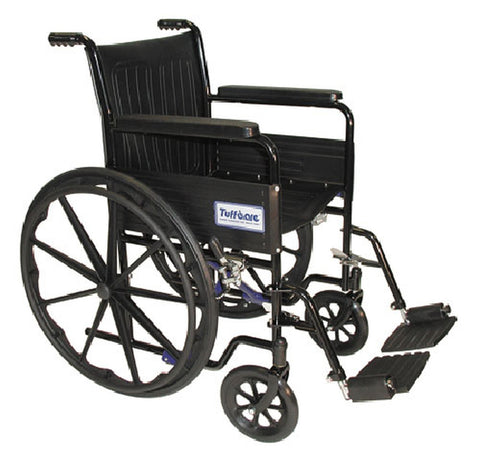 wcs 34 wheelchair standard 227 fixed arm - Adventura Sickroom Supply