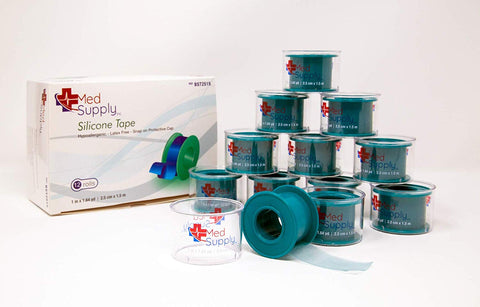 "Tape Silicone Water Proof 2"" x 5.5 yd model # BST0505 - Adventura Sickroom Supply"