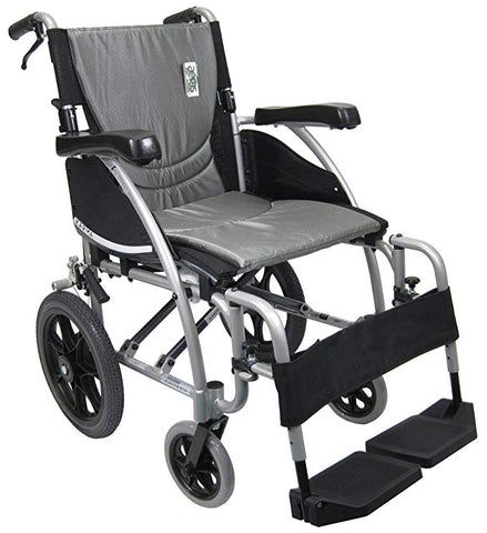 Wcl 18 Wheelchair 20 inch back wheels Karman ergo115F20SS km8020 - Adventura Sickroom Supply