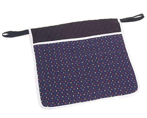 Wheelchair Pouch Deluxe Quilted Confetti item# W4550 - Adventura Sickroom Supply