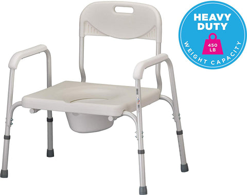 Commode Bariatric Heavy Duty Item# 8580 Nova - Adventura Sickroom Supply