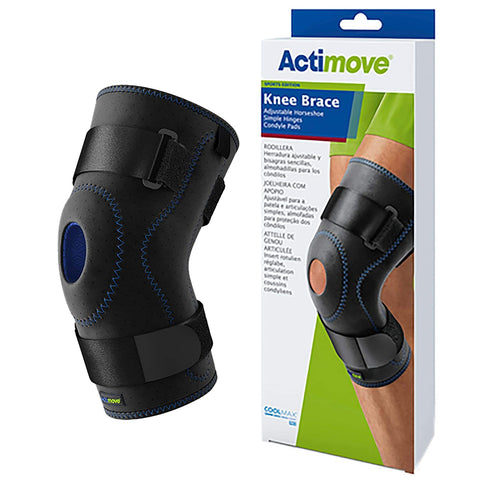 knee Stabilizing  w/composite hinges knee supports