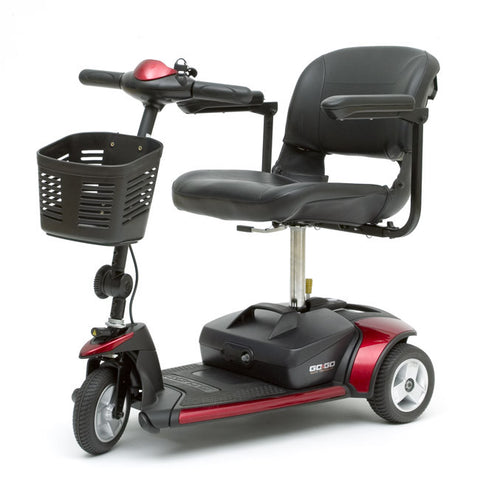 Scooter - 3 Wheel - GOGO Elite Traveller - Pride - Adventura Sickroom Supply