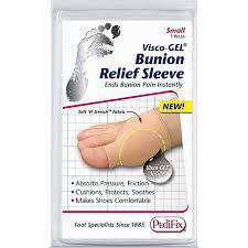 Pedifix Bunion Relief Sleeve Visco-GEL - Adventura Sickroom Supply