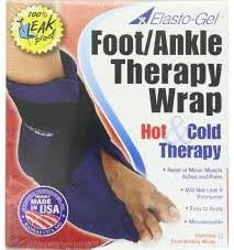 hot/cold foot/ankle wrap Elasto-Gel fa6080 - Adventura Sickroom Supply
