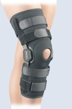 knee PowerCentric hinged composite polycentric supports - Adventura Sickroom Supply