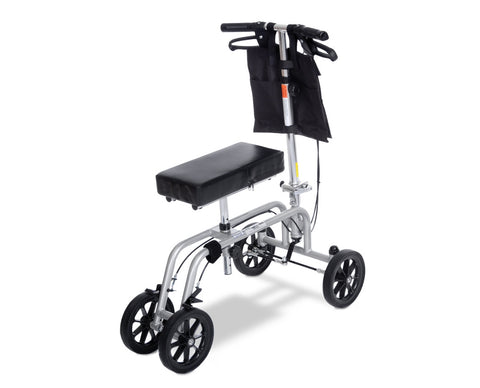 Knee Walker gray and black - Crutch and Crutches Alternative - Adventura Sickroom Supply