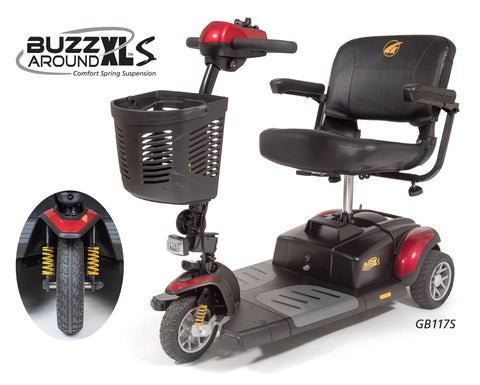 Scooters BUZZaround XLS 3 Wheel Scooter - Adventura Sickroom Supply