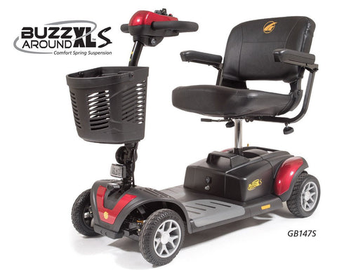 Scooters BUZZaround XLS 4 Wheel Scooter - Adventura Sickroom Supply