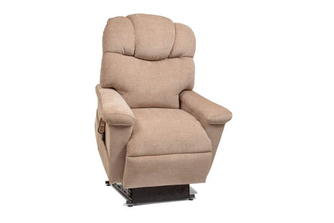 405-MLA Orion Fabric/Warehouse Twilight Comfort Lift Chair Golden - Adventura Sickroom Supply