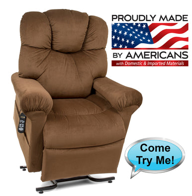 512 High Performance Fabric - Power Lift Recliner Chair - Adventura Sickroom Supply