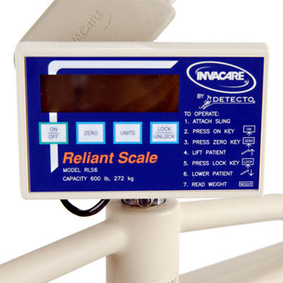 Digital Scale For Patient Lift Reliant Invacare Item#RLS6 - Adventura Sickroom Supply