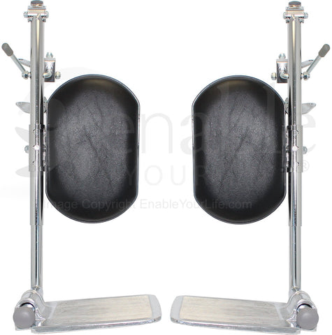 Elevating Leg Rest Pair New - Adventura Sickroom Supply