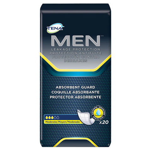 Tena - Mens Pad - Tena Men 50600 6x20 - Adventura Sickroom Supply