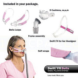 CPAP Mask ResMed Swift FX Bella for her nasal pillow mask