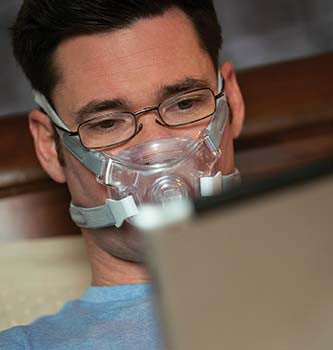 cpap mask Respironics Amara view full face - Adventura Sickroom Supply