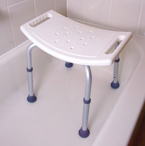 bath bench without back  mds89740a Medline - Adventura Sickroom Supply